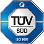 QUADRIGA Polyurethane und mehr ist ein nach DIN EN ISO:9001 vom TÜV zertifiziertes Unternehmen