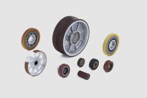 QUADRIGA Polyurethan-Räder, Rollen und Walzen - Hohe Trag- und Abriebfestigkeit für spezielle Anwendungen