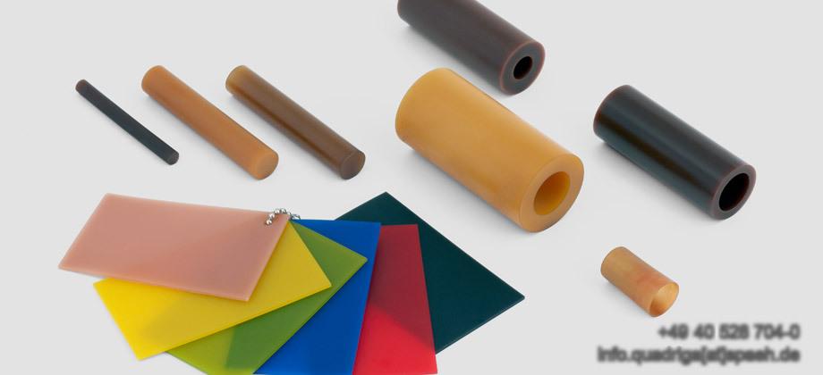 QUADRIGA Werkstoffe Polyurethane und Vulkollan