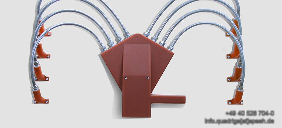 QUADRIGA Polyurethan- und Vulkollan-Teile werden in allen Industriezweigen eingesetzt